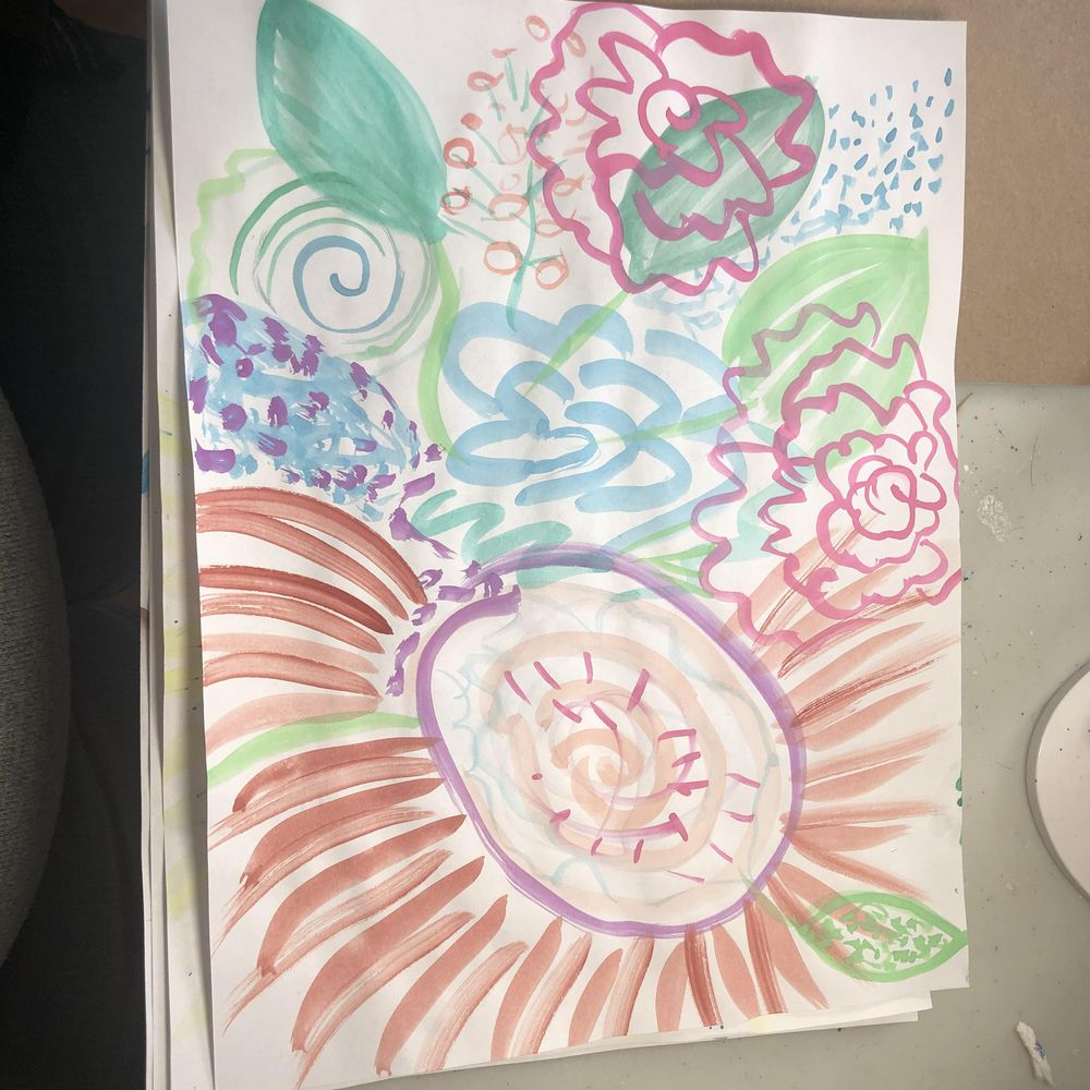 Intuitive Painting Class - image 3 - student project