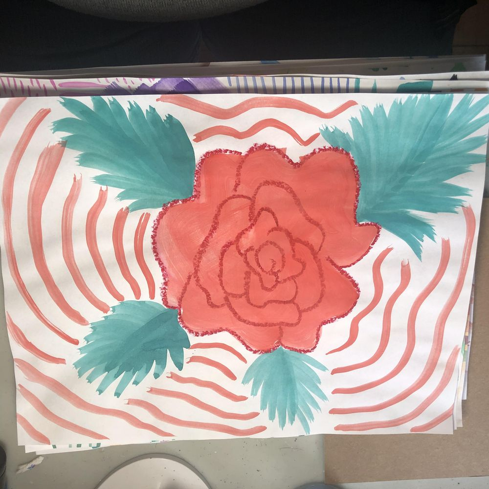 Intuitive Painting Class - image 5 - student project