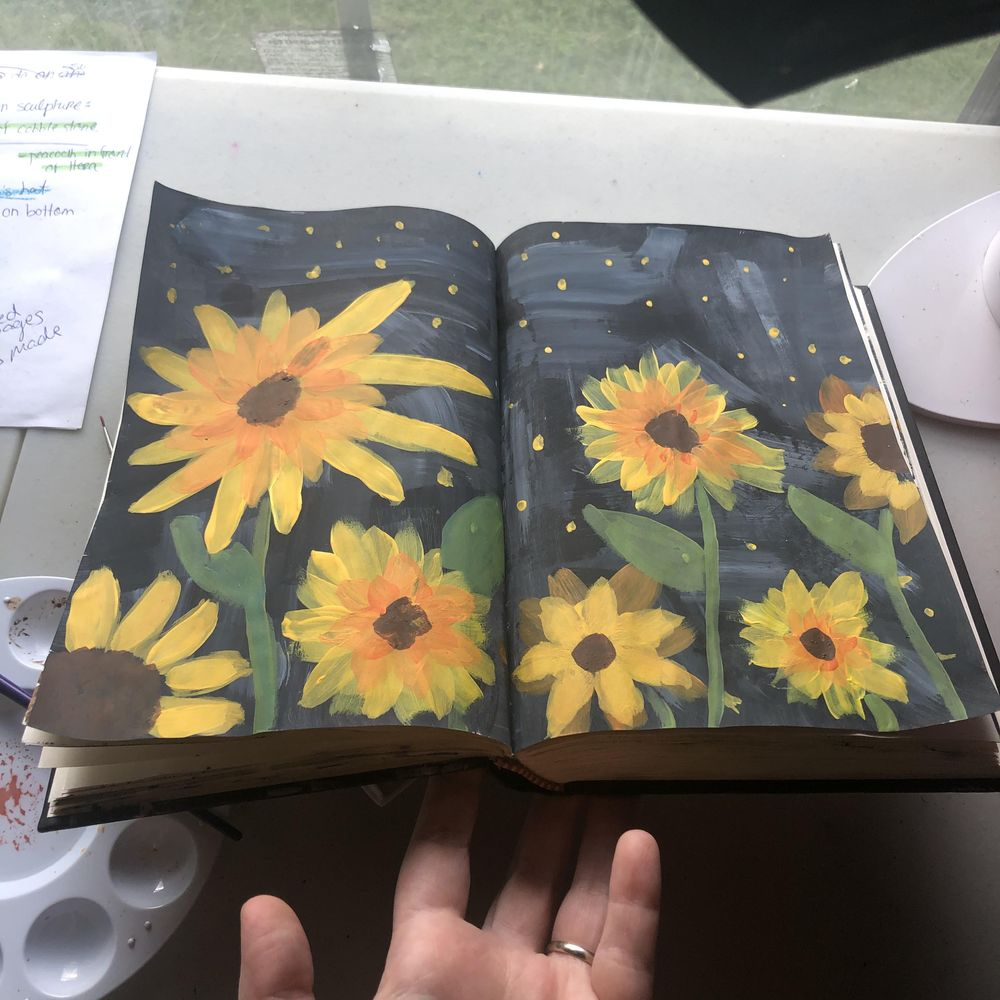 Intuitive Painting Class - image 2 - student project