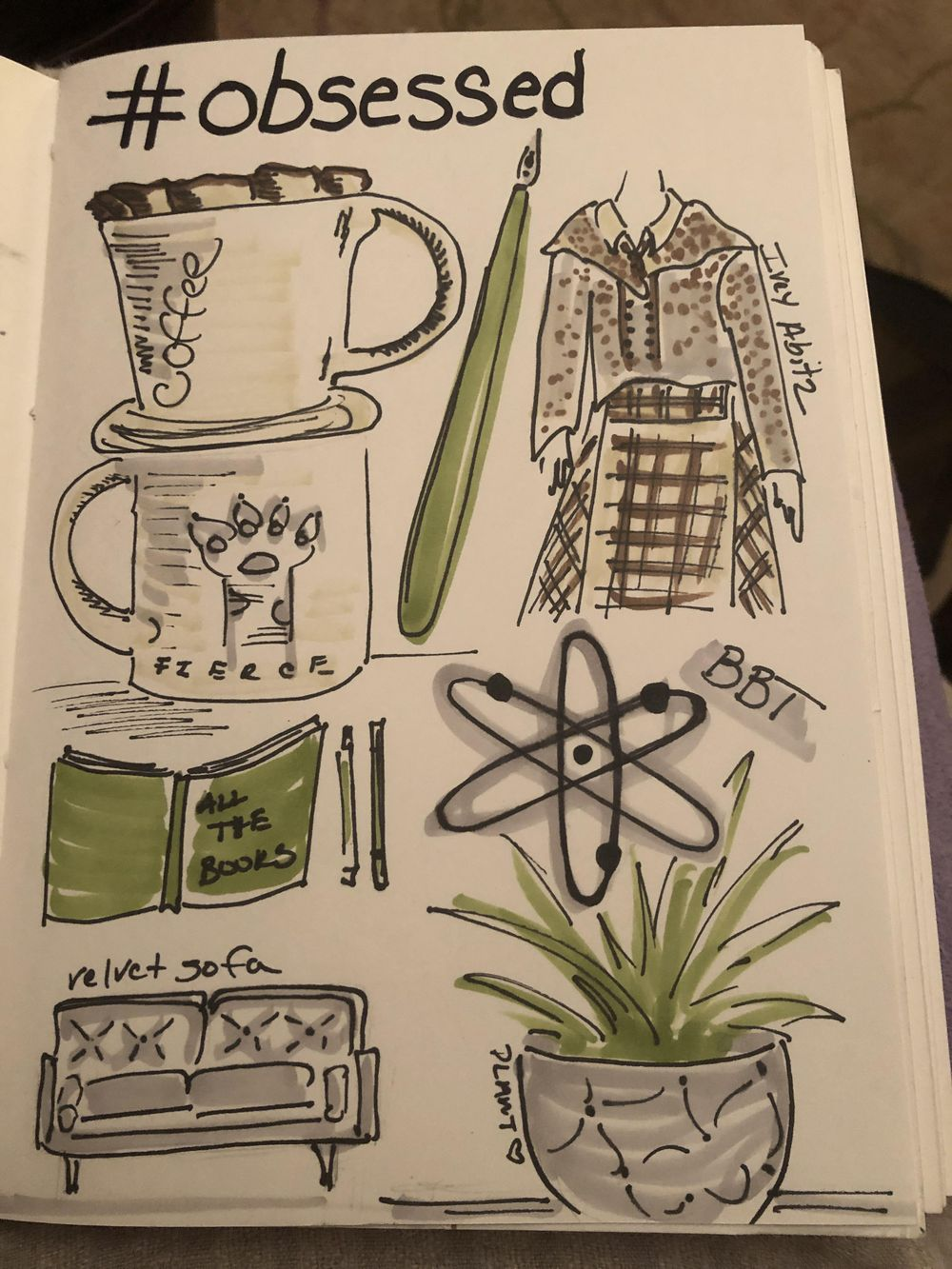 14 days of illustrated journal prompts - image 10 - student project