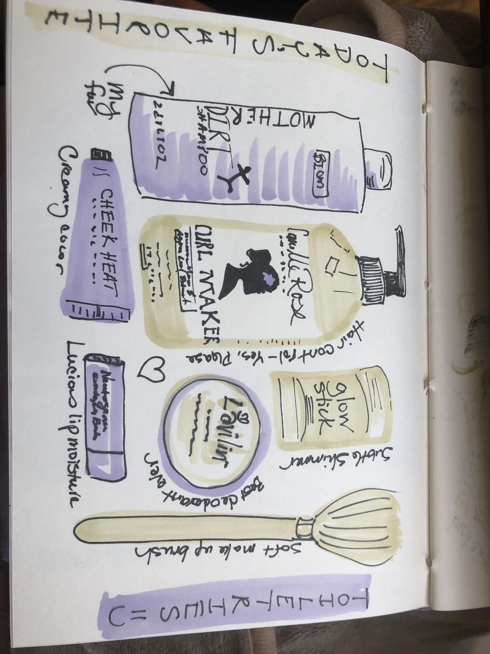 14 days of illustrated journal prompts - image 11 - student project