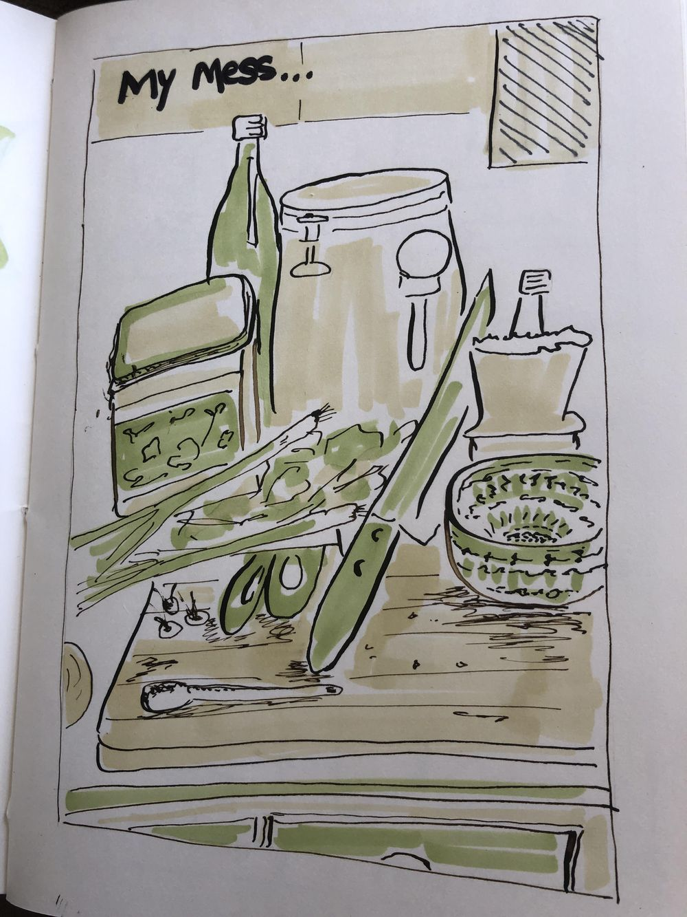 14 days of illustrated journal prompts - image 12 - student project