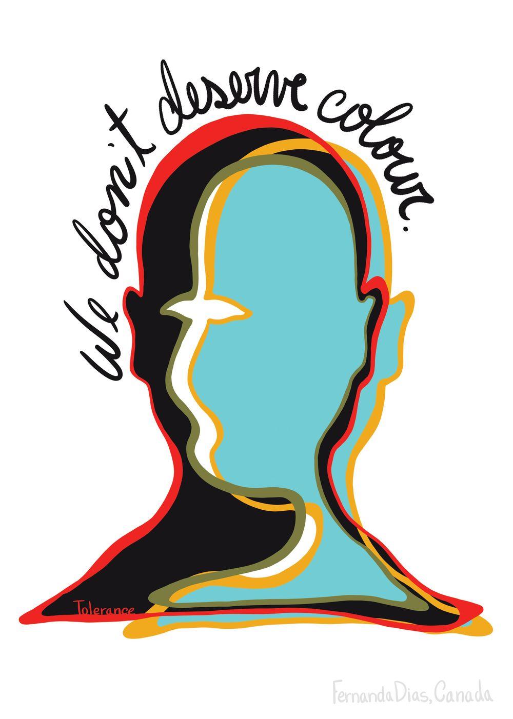 We Don't Deserve Colour - image 1 - student project