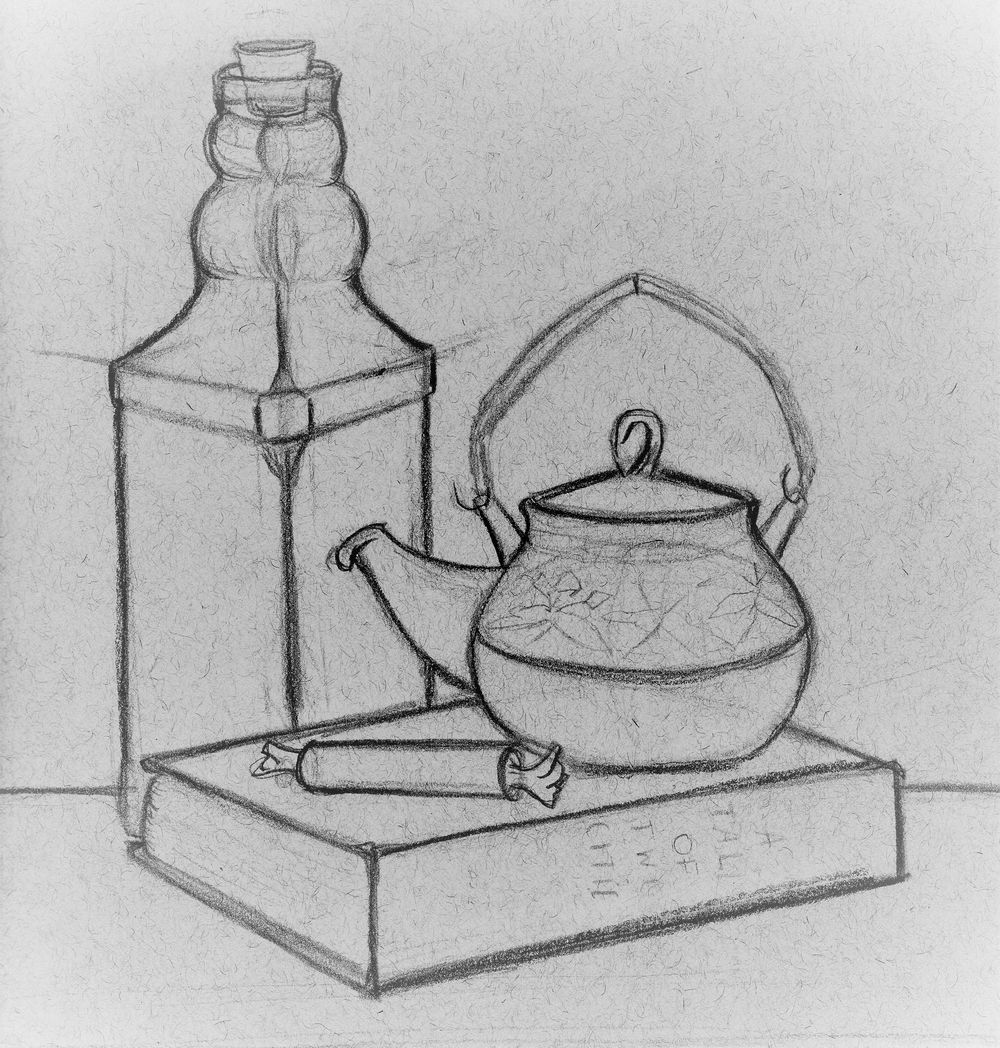 Still Life Drawing - image 1 - student project