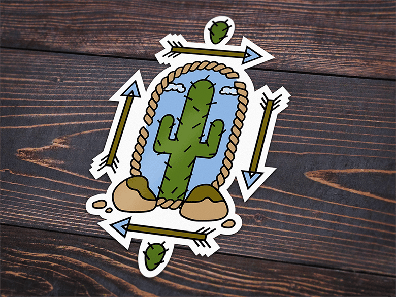 My First Sticker Design - Critique Requested - image 2 - student project