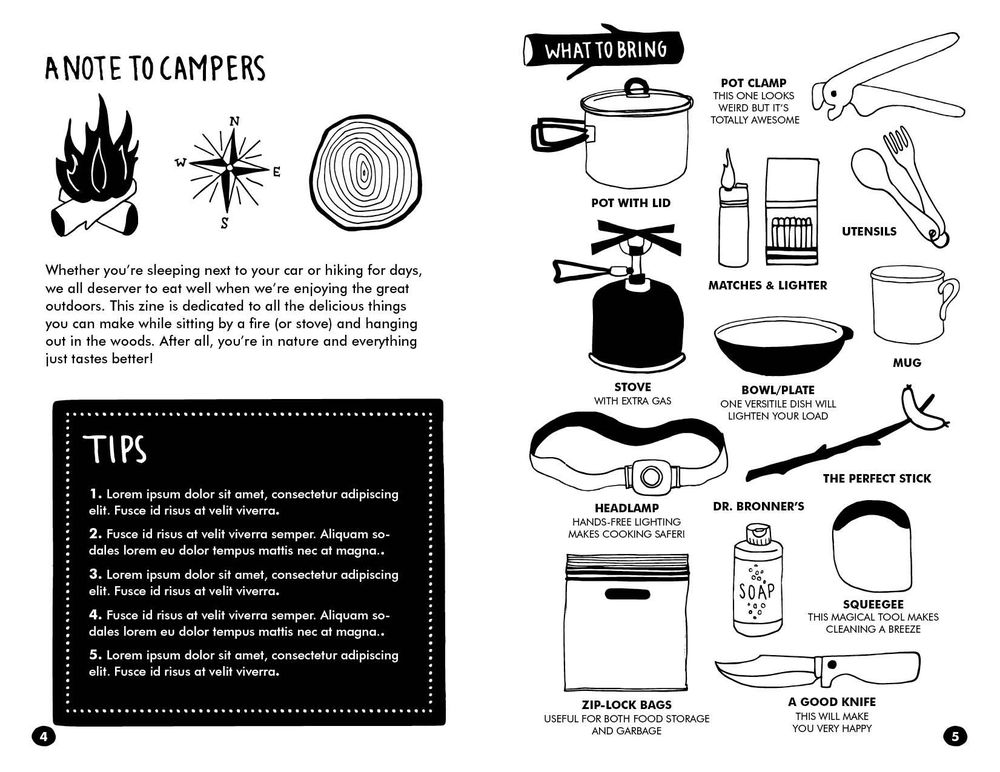 Cooking for Camping - image 3 - student project