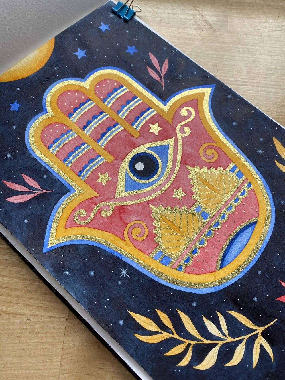 Hamsa Hand - image 3 - student project