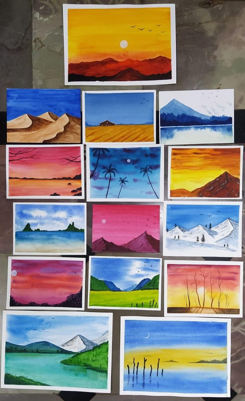 Paintings - 30 Day Challenge - image 1 - student project
