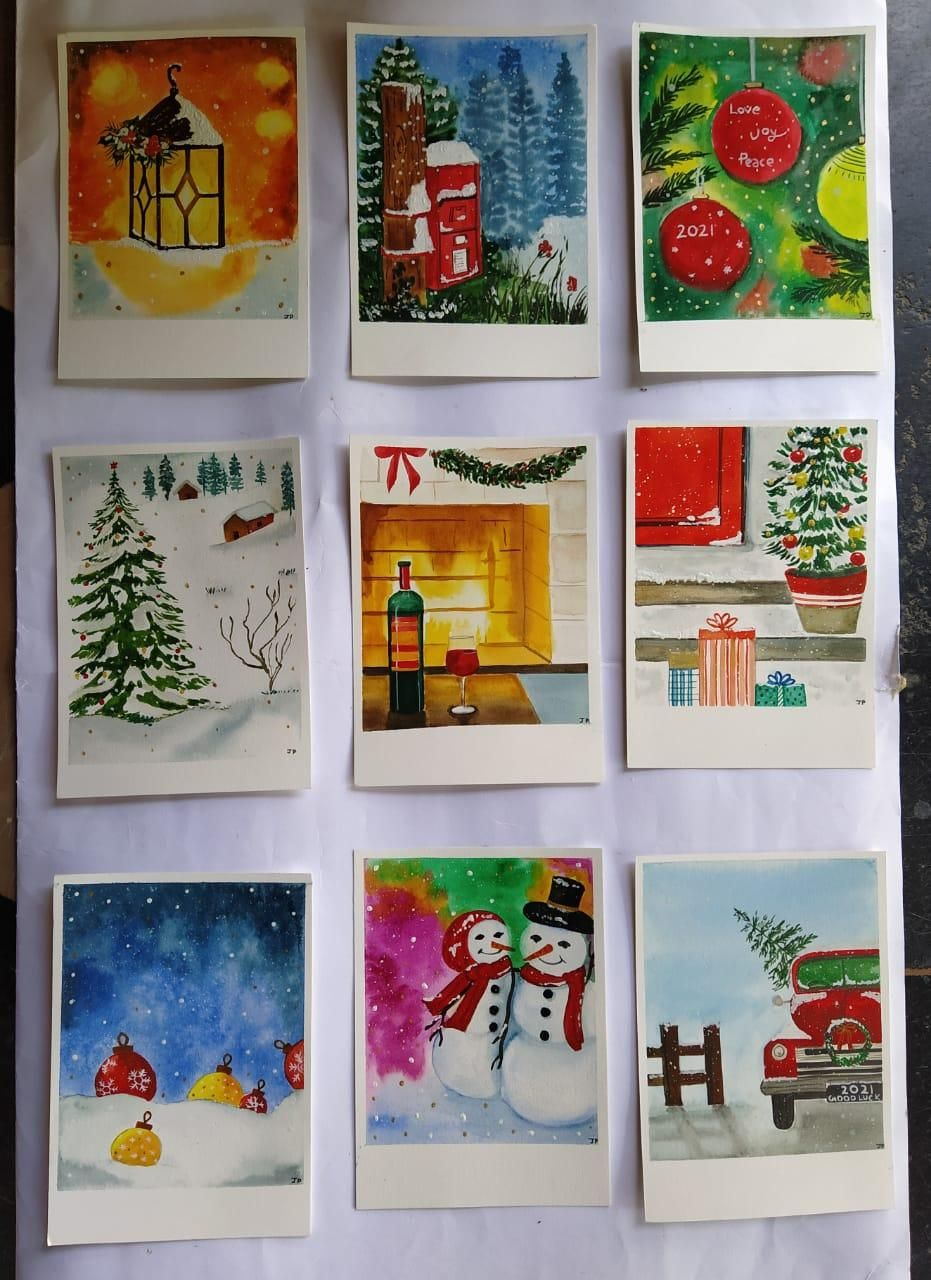 Christmas Cards - image 1 - student project
