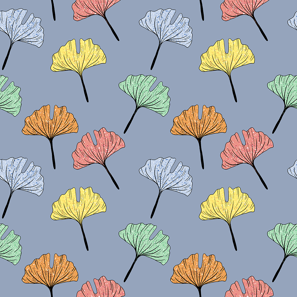 Seamless pattern in procreate - image 1 - student project