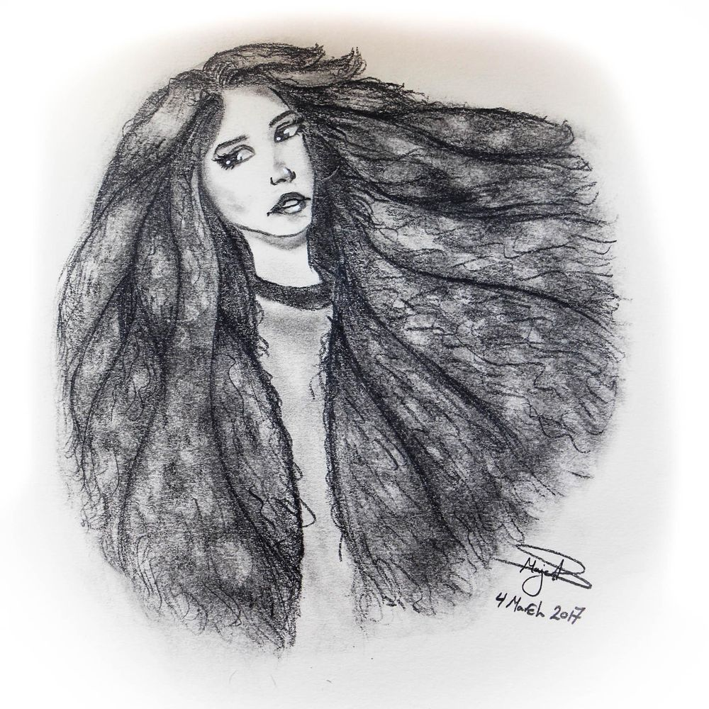 hair framed!!! - image 1 - student project