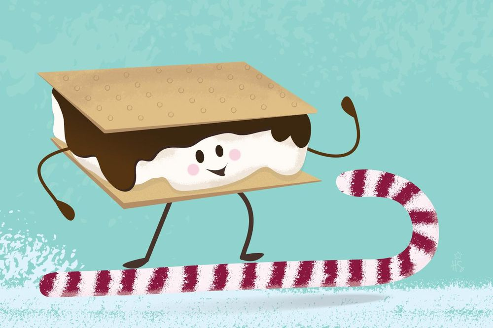 Surfin' S'more Character - image 1 - student project