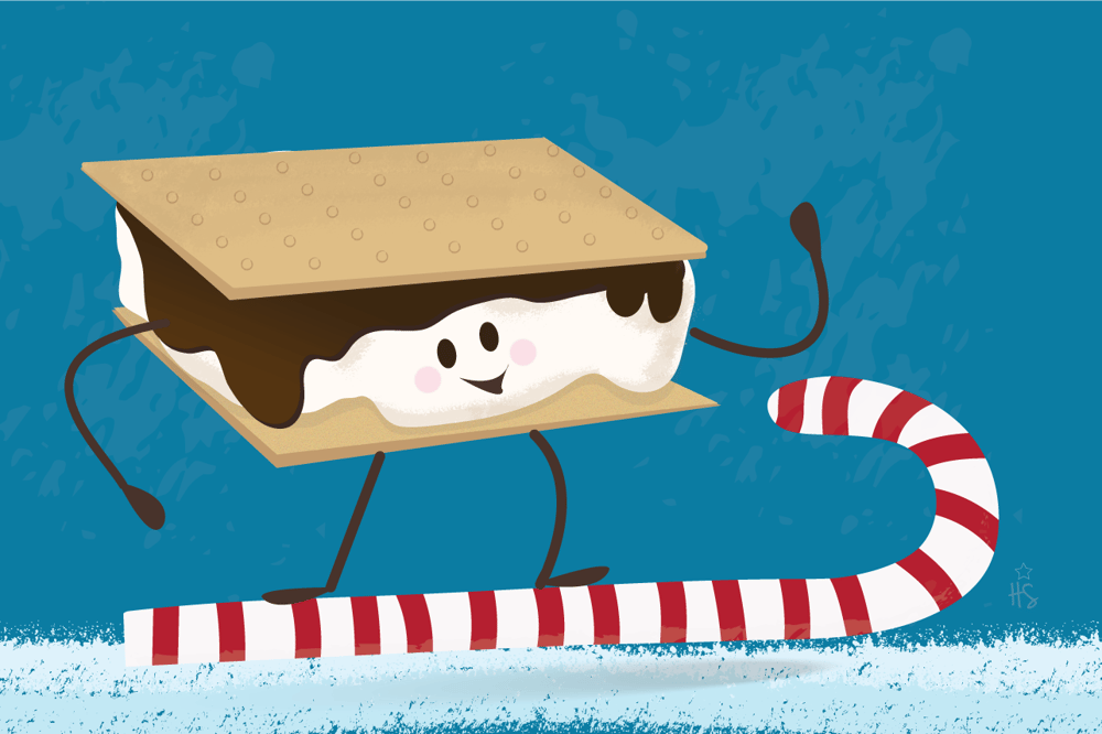 Surfin' S'more Character - image 2 - student project