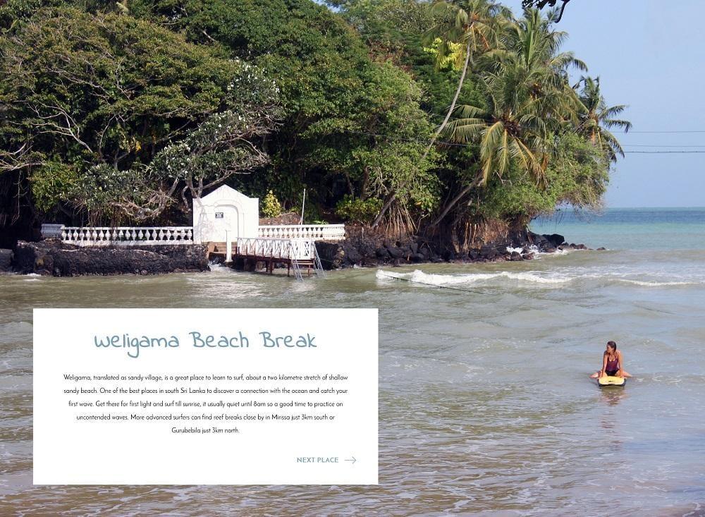 Sri Lanka travel cards - image 3 - student project