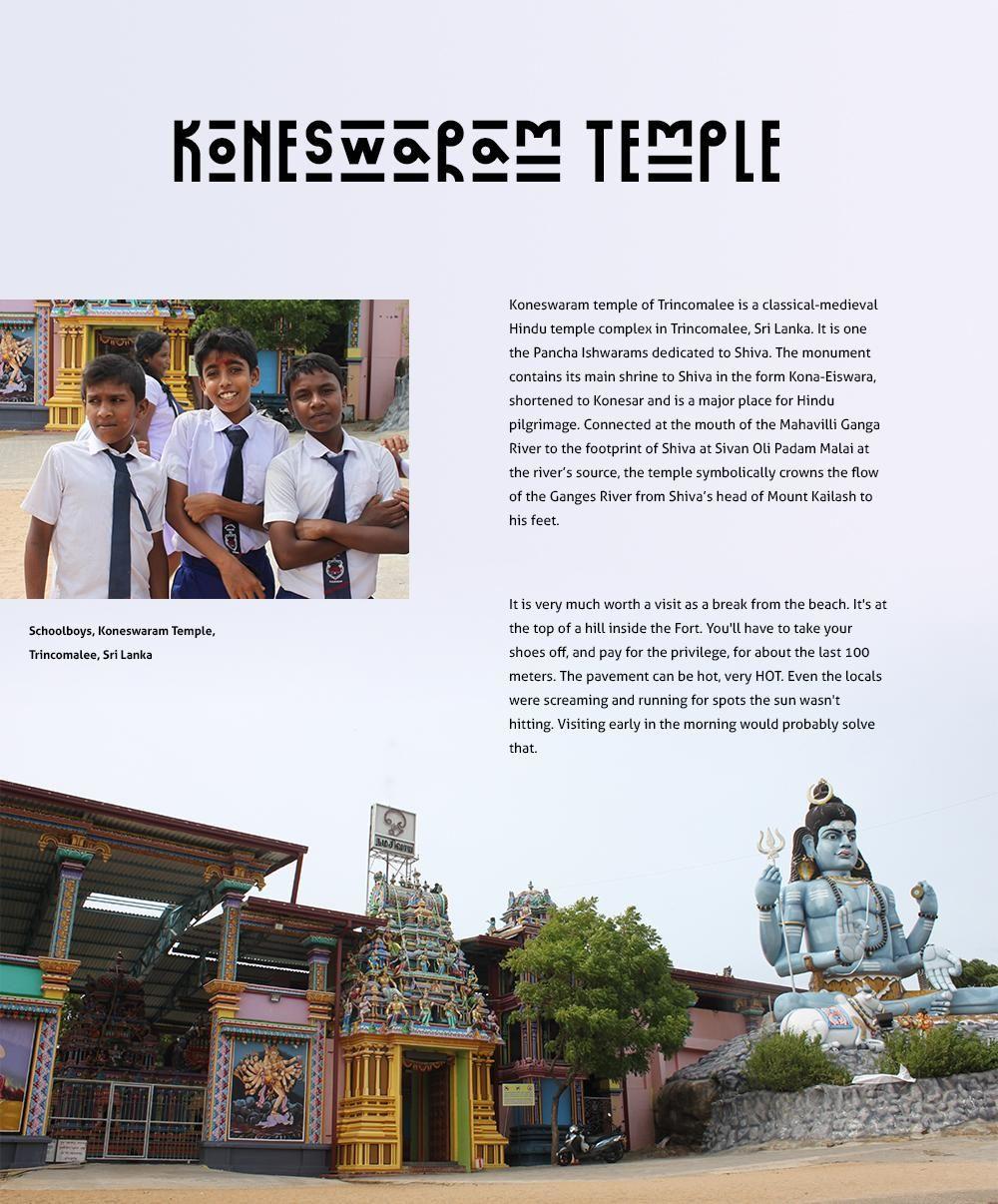 Sri Lanka travel cards - image 2 - student project