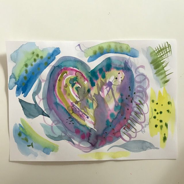 Fun with watercolors - image 4 - student project