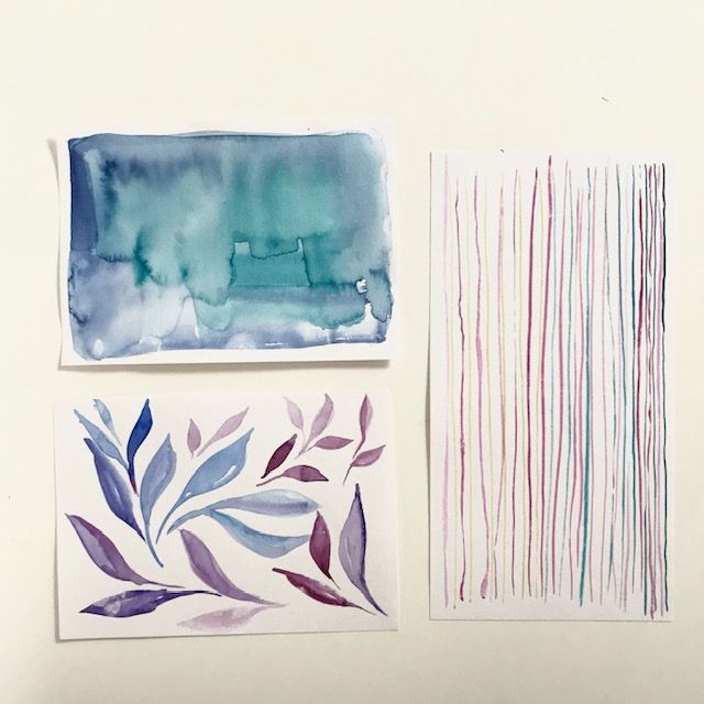 Fun with watercolors - image 2 - student project