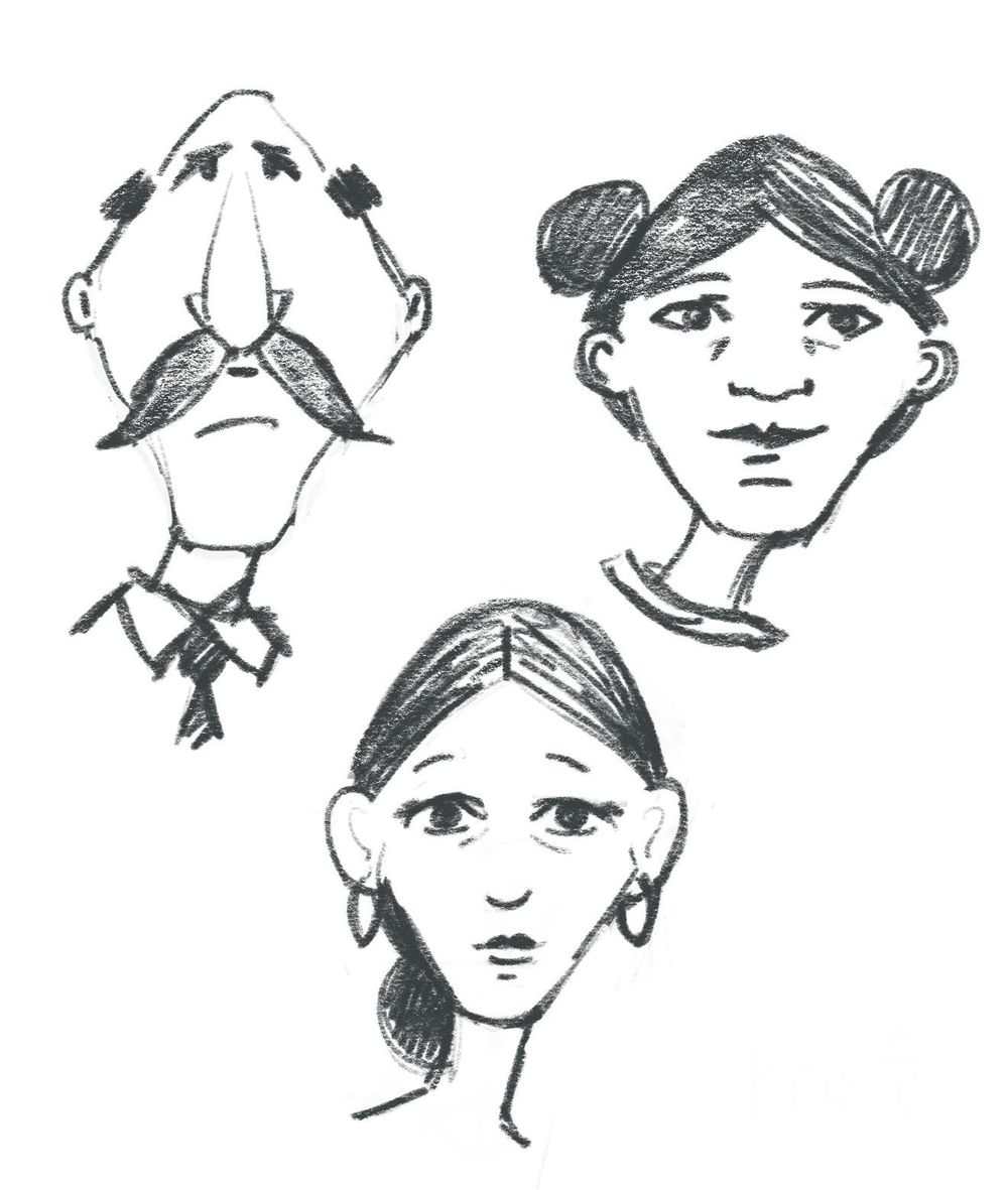 Face shape exercises - image 4 - student project