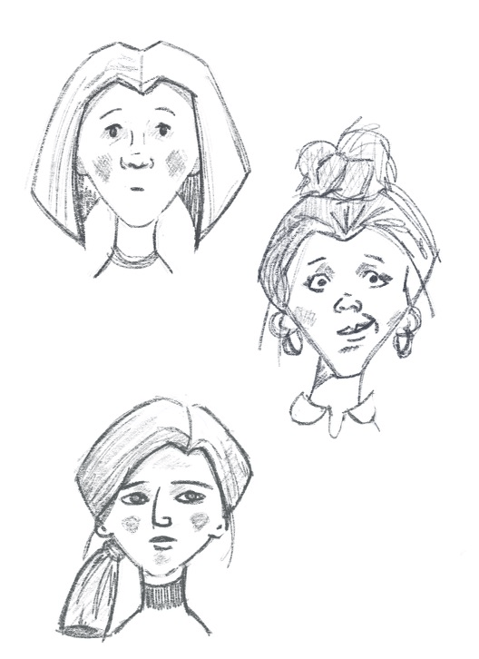 Face shape exercises - image 2 - student project