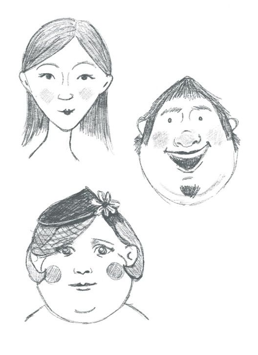 Face shape exercises - image 3 - student project