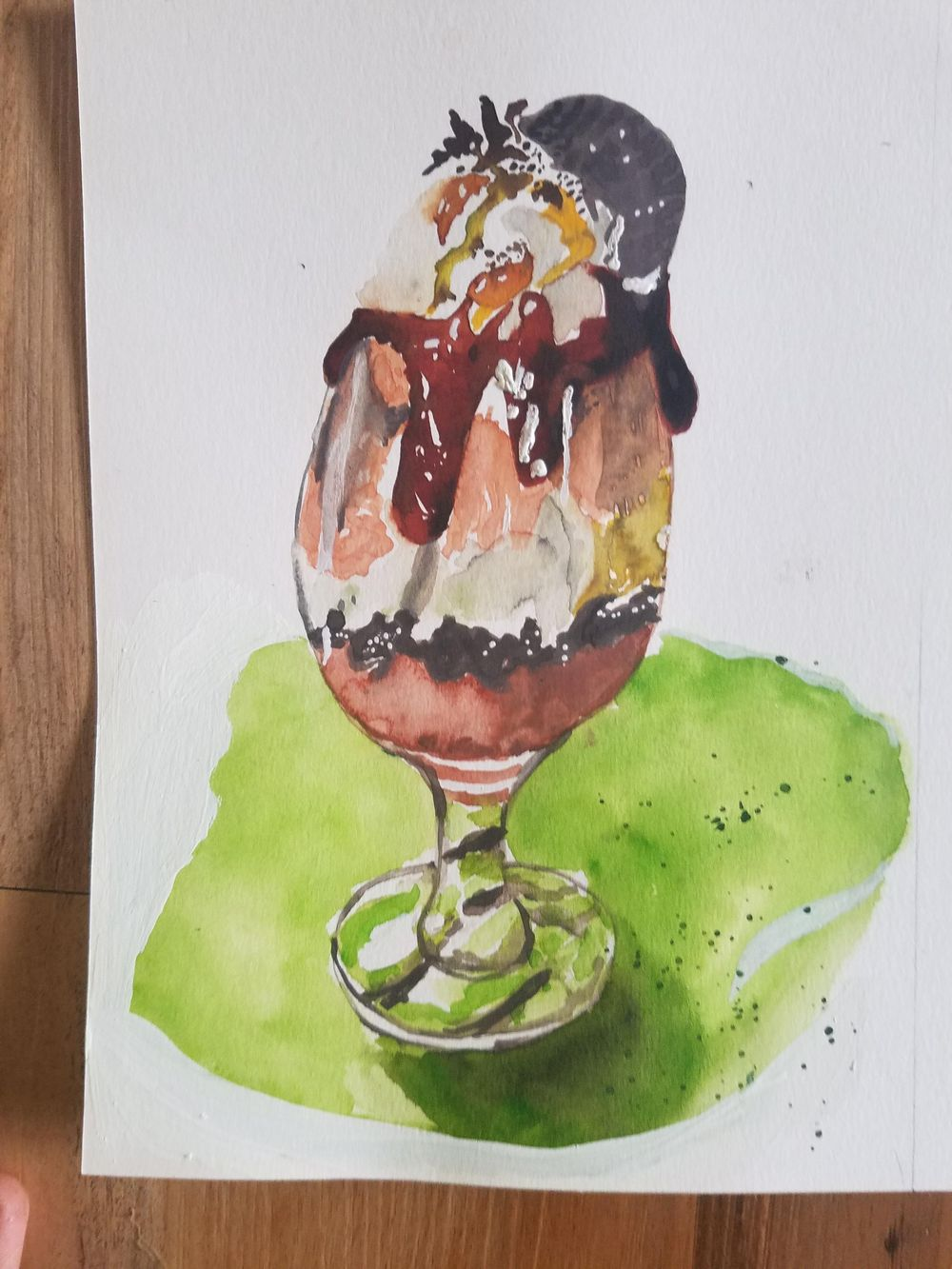 Food Illustrations - image 2 - student project