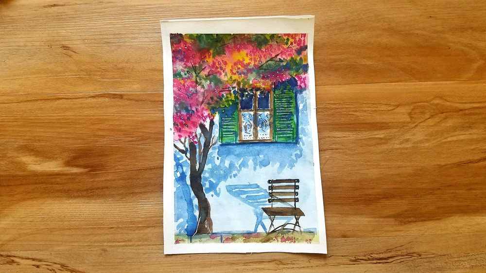 Watercolor Urban Landscape - image 2 - student project
