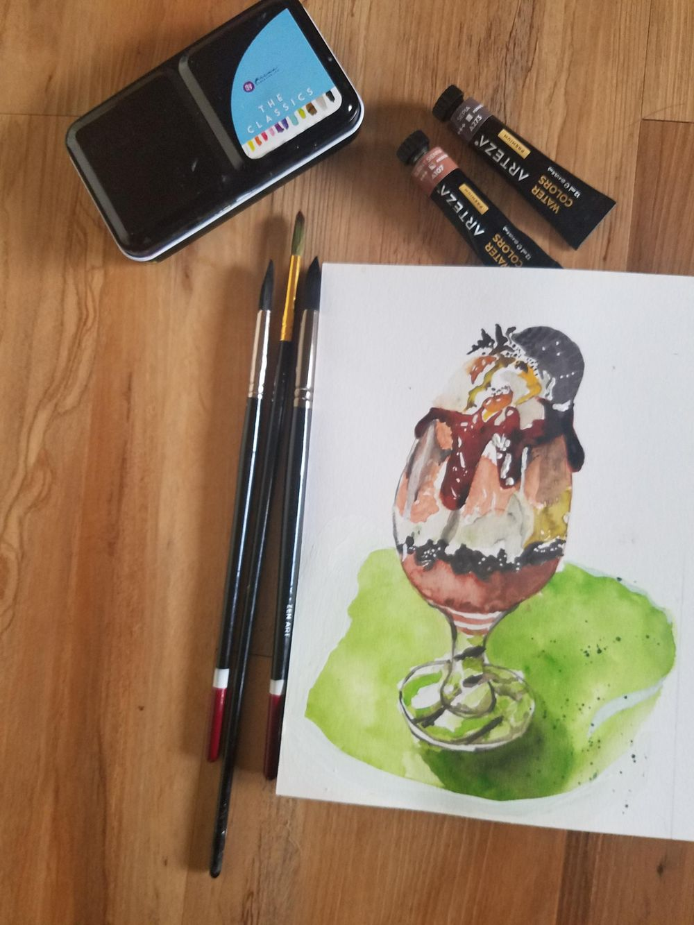Food Illustrations - image 4 - student project