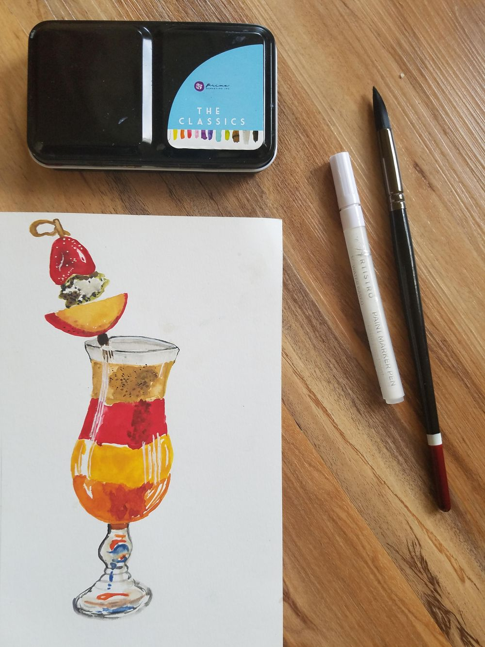 Food Illustrations - image 3 - student project