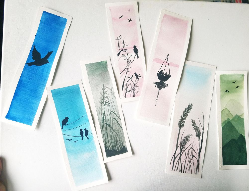 Relaxing Watercolors Projects for Beginners - image 2 - student project