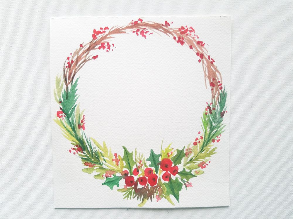 Christmas Wreath - image 2 - student project