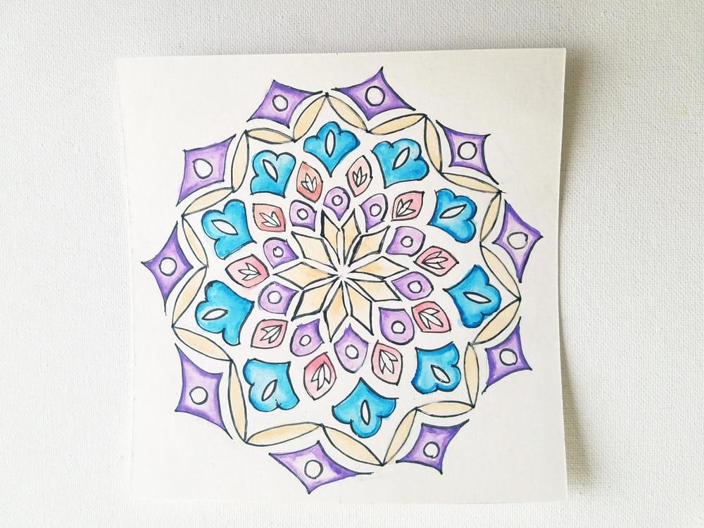 Motif Mandala - image 2 - student project