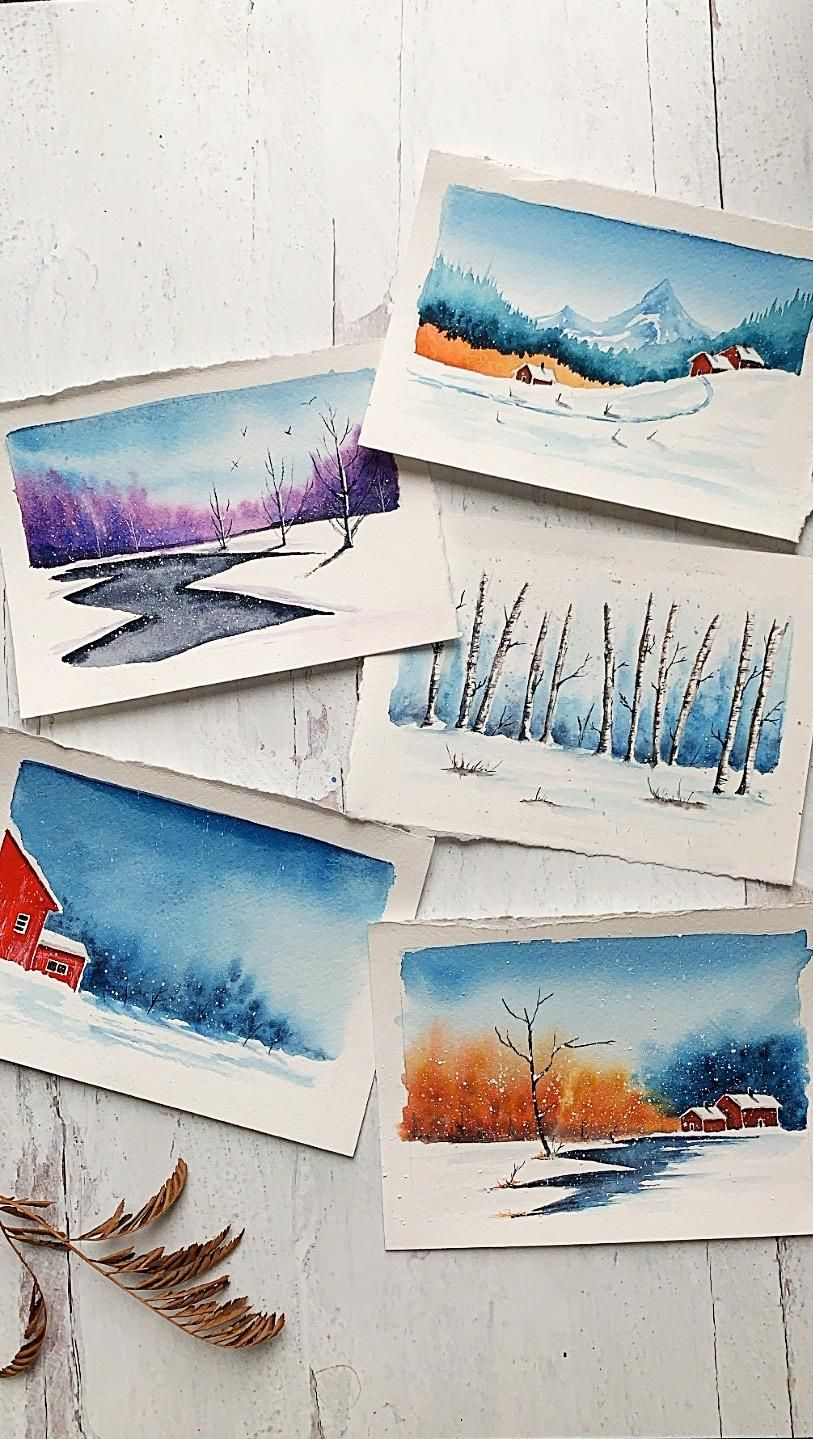 Winter landscapes, so dreamy! - image 1 - student project