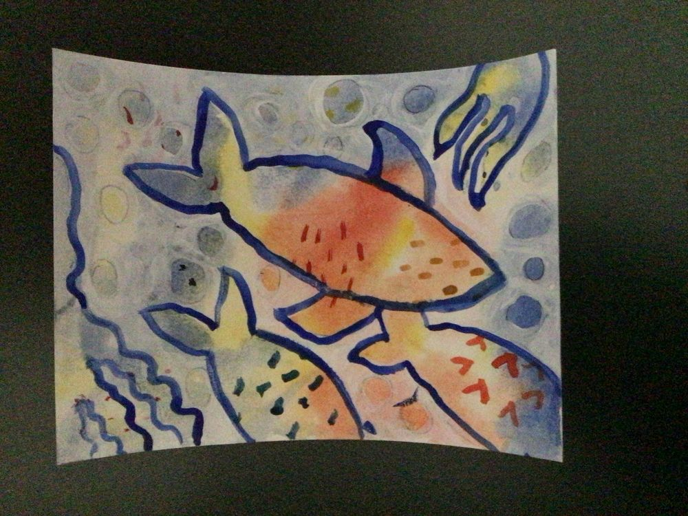 Fish picture - image 1 - student project