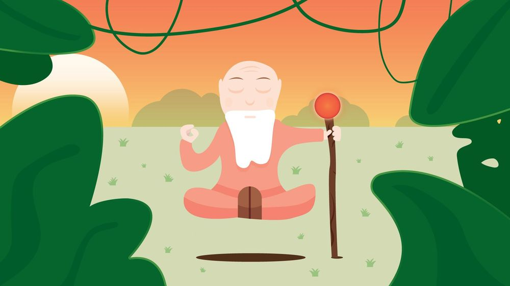 The Calm Monk  - image 4 - student project