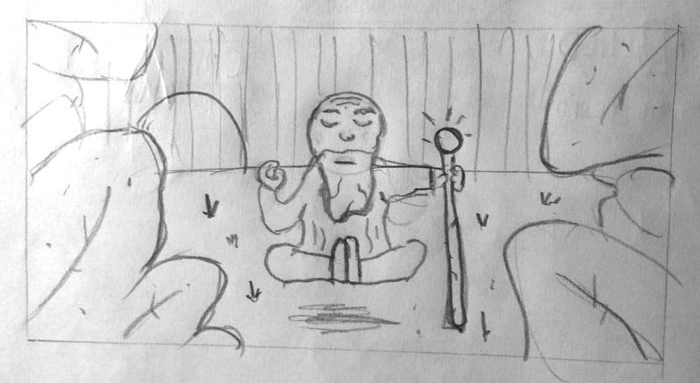 The Calm Monk  - image 3 - student project