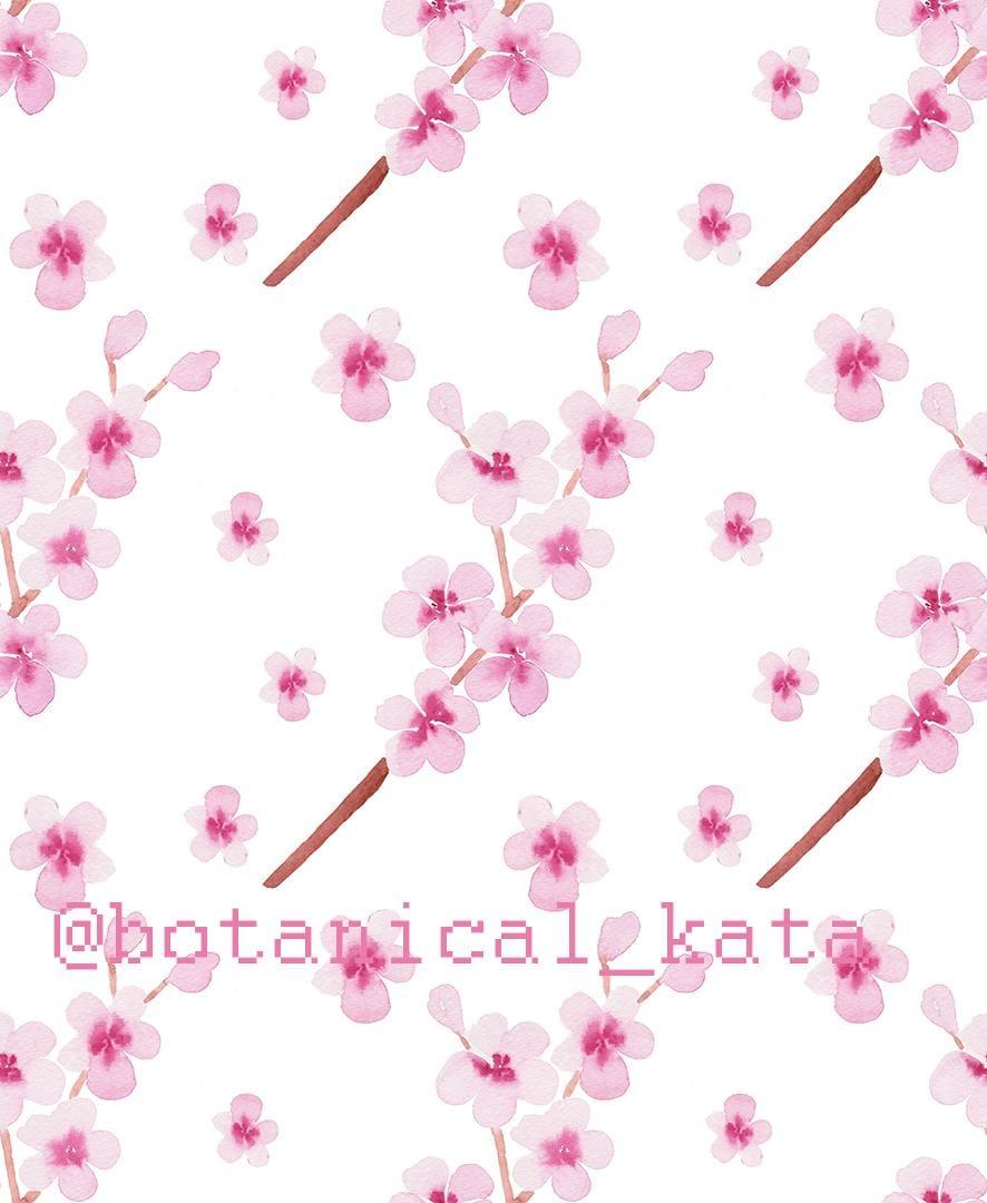 Sakura pattern - image 2 - student project