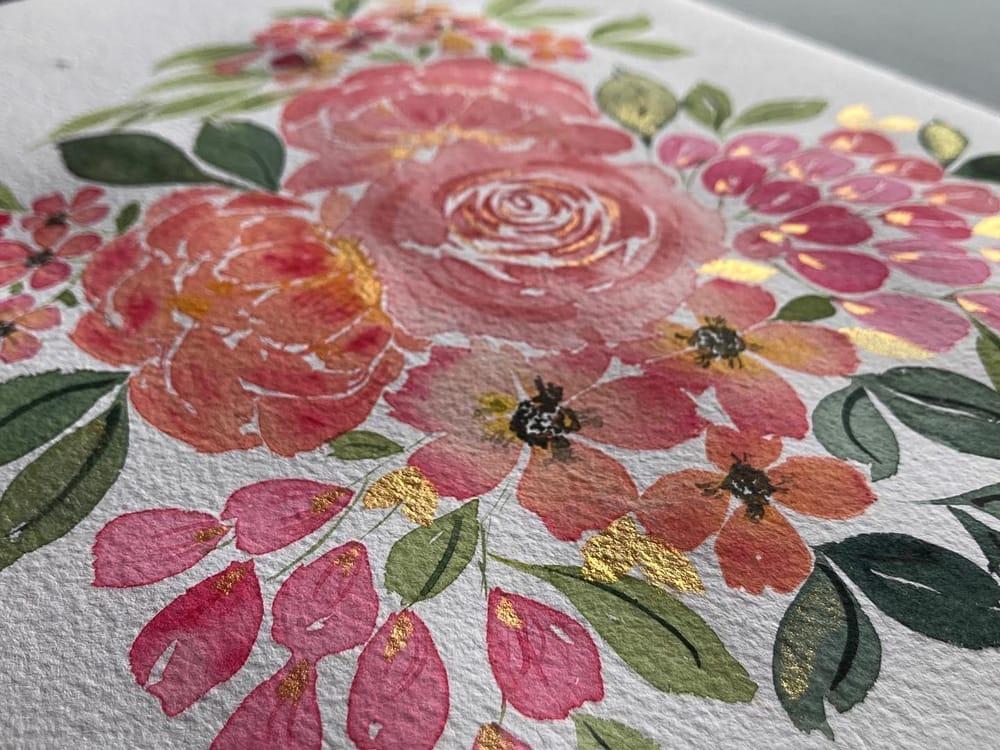 Blush Pink Bouquet - image 2 - student project