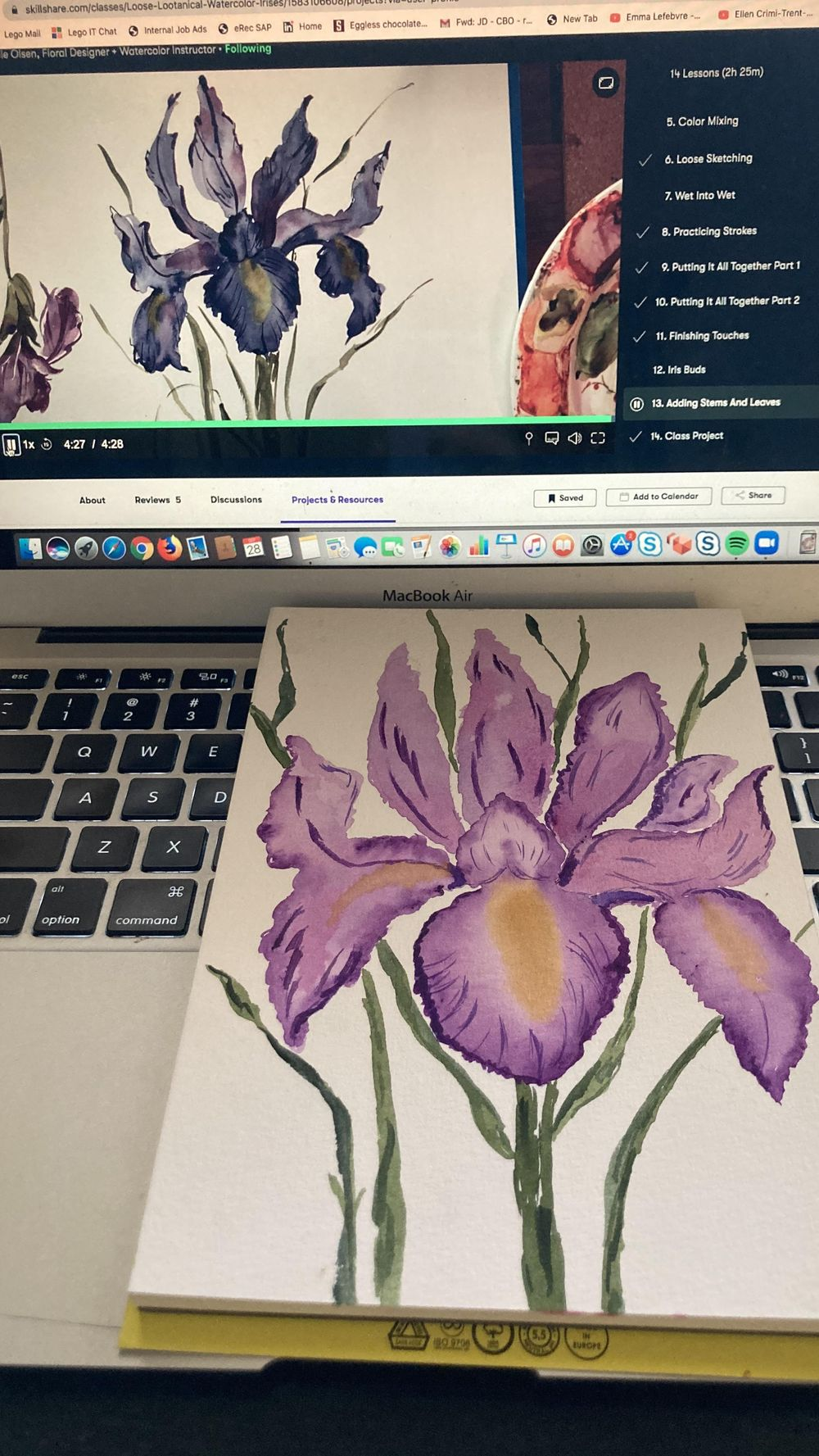 Lootanical Iris - image 1 - student project