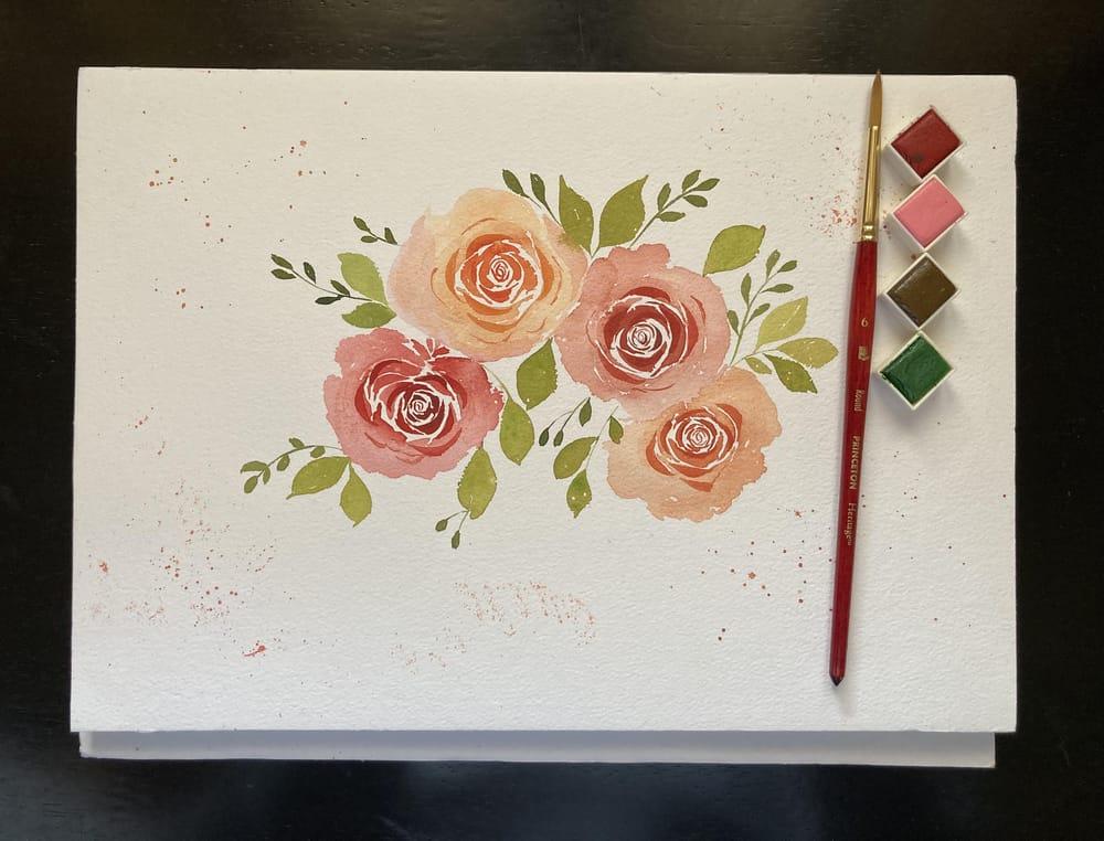 Rose Bouquet - image 2 - student project