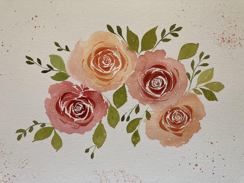 Rose Bouquet - image 1 - student project