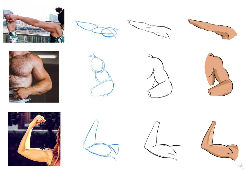 How to draw arms - Assignment - image 1 - student project