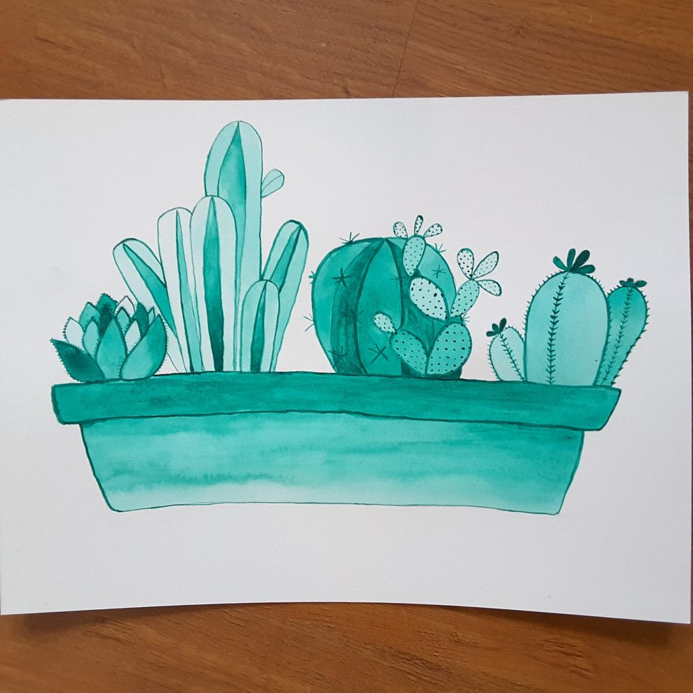 Watercolour Exercises - image 1 - student project