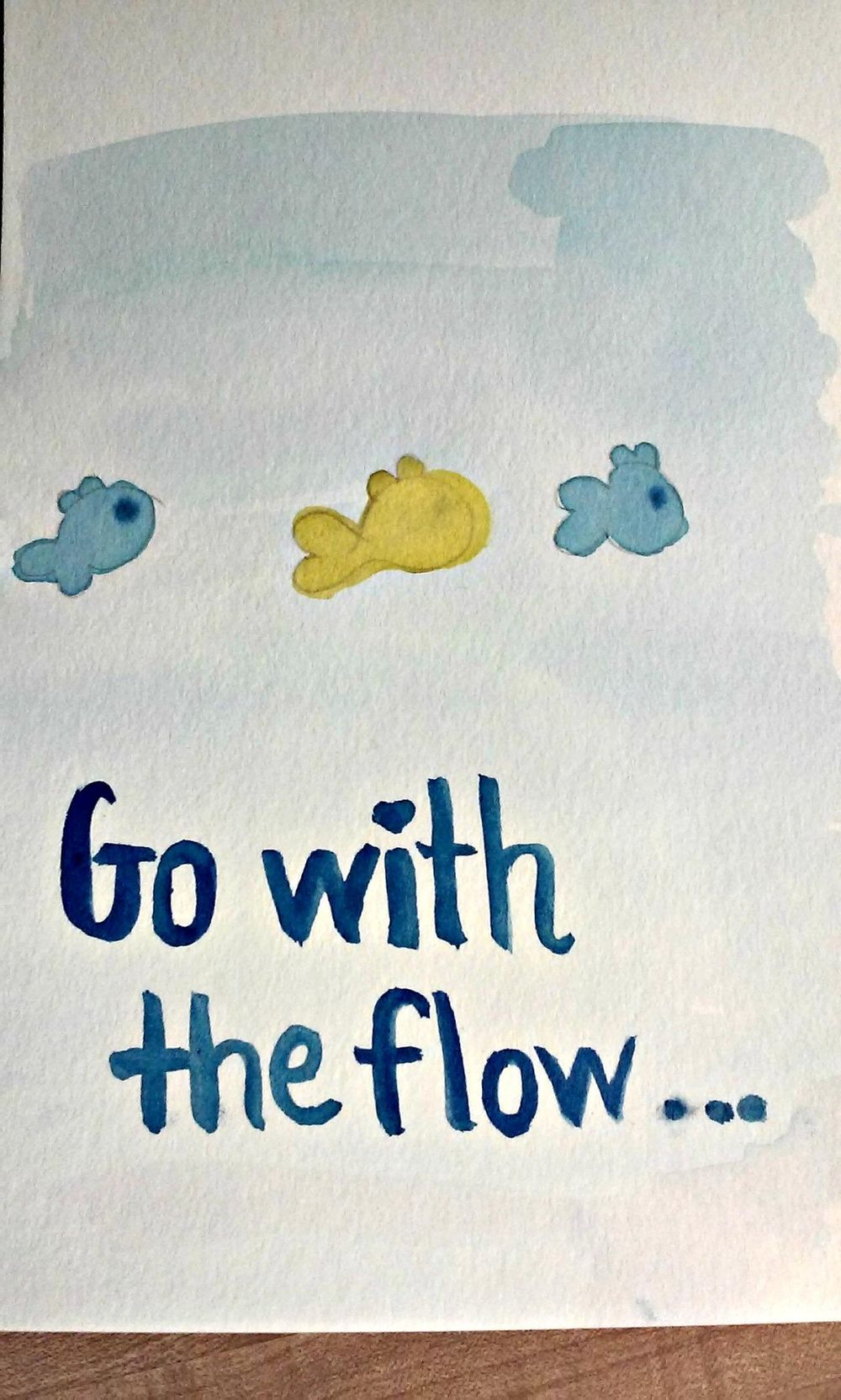 Go With the Flow--Stand Out Together - image 1 - student project