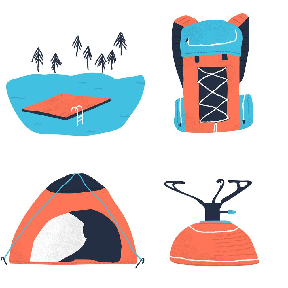 Wild camping in Sweden - image 1 - student project