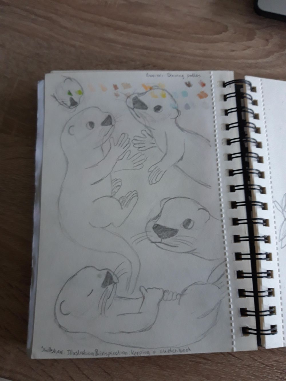 A sketchbook course - image 1 - student project
