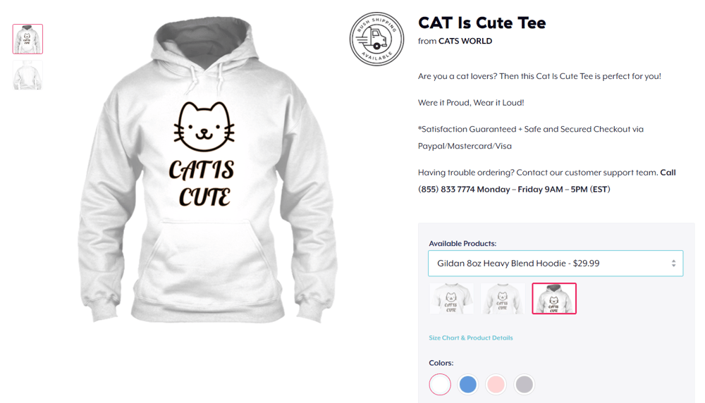 My very fist Teespring campaign - image 1 - student project