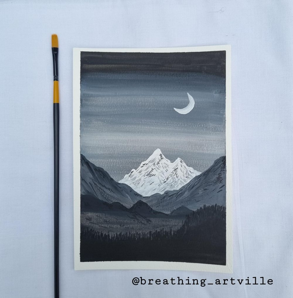 Black and White Paintings - image 2 - student project