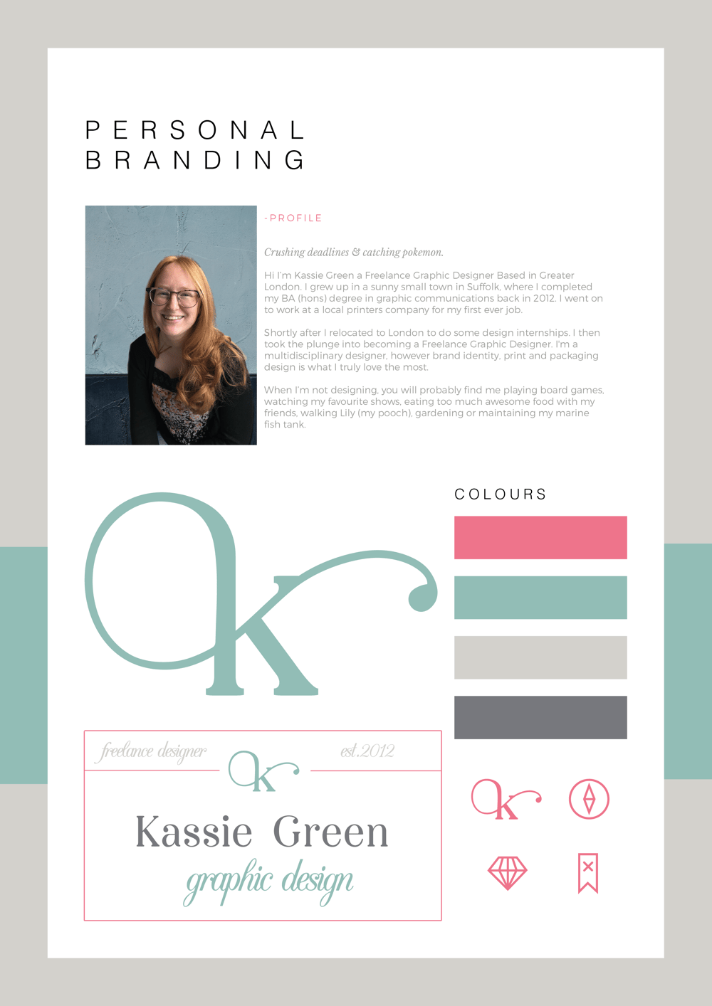 Personal Branding - image 1 - student project