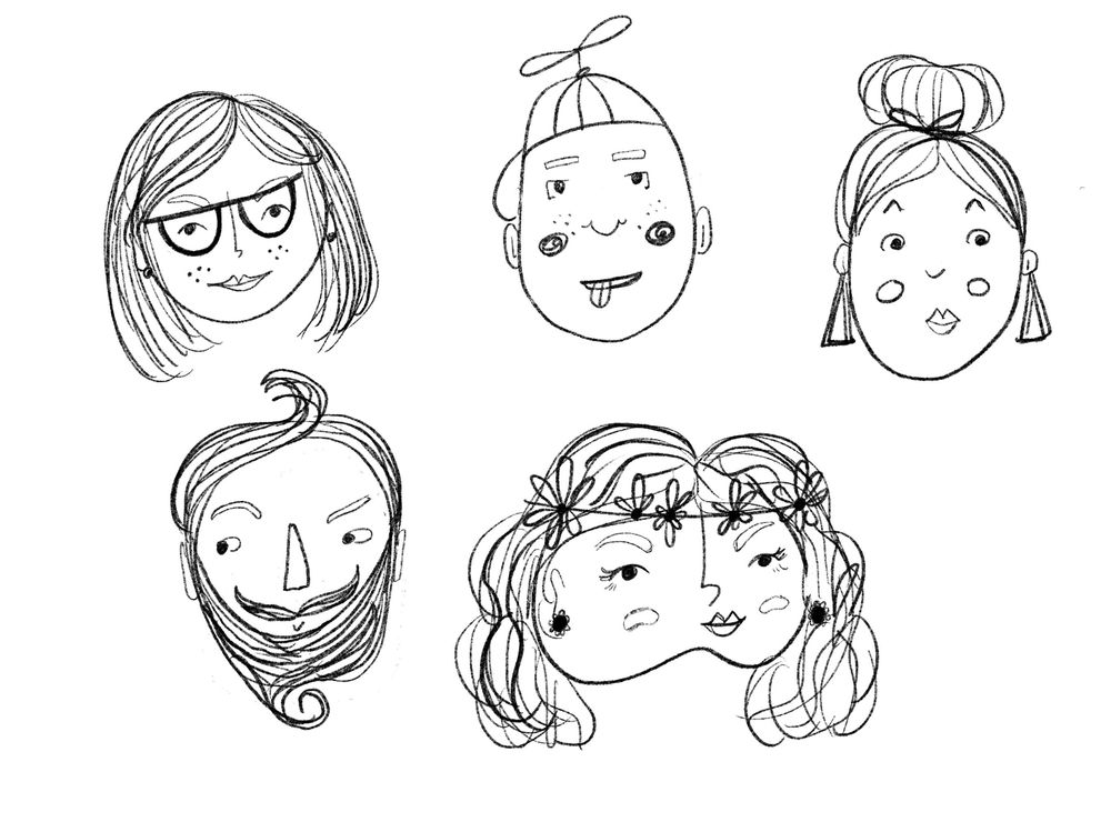 Fun with faces - image 2 - student project
