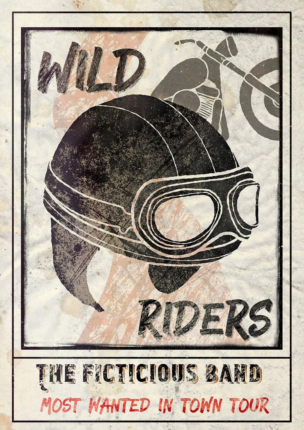Wild Riders Gig Poster - image 1 - student project